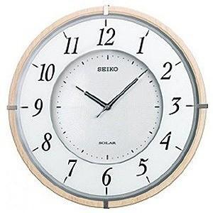セイコー ソーラー電波掛け時計「ソーラープラス」 SF501B