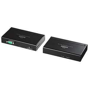 サンワサプライ KVMエクステンダー(USB用) VGA‐EXKVMU