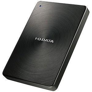 I·O·DATA 外付けHDD ブラック [ポータブル型 /2TB] HDPX‐UTC2K