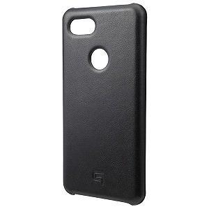 坂本ラヂヲ Italian Genuine Leather Shell Case for Pixel3 XL Black GSC73018BLK