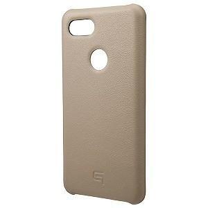 坂本ラヂヲ Italian Genuine Leather Shell Case for Pixel3 XL Taupe GSC73018TPE