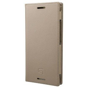 坂本ラヂヲ Italian Genuine Leather Book Case for Pixel 3 Taupe GLC72928TPE(Tau