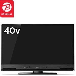 三菱 MITSUBISHI 40V型フルハイビジョン液晶テレビ[HDD内蔵BDレコーダー搭載]REALリアルLCD·S40BHR11(標準設置無料)