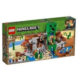 LEGO レゴ 21155 マインクラフト 巨大クリーパー像の鉱山