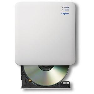 エレコム ELECOM WiFi対応DVDディスクドライブ 5GHz DVD再生対応 USB3.0 ホワイト LDR·PS5GWU3PWH