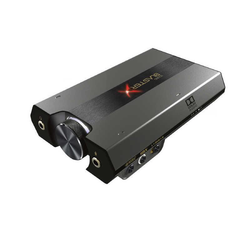 永遠の定番 クリエイティブメディア ゲーミングUSBオーディオインターフェース Sound BlasterX 人気海外一番 SBXG6 G6