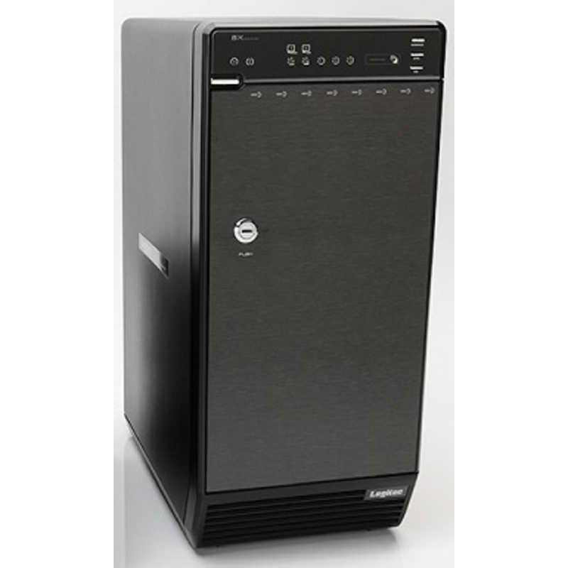 今だけ限定15%OFFクーポン発行中 ロジテック ハードディスクケース 3.5インチ 8台 驚きの値段 LGB−BNHEU3シリーズ 8台 ブラック LGB-8BNHEU3