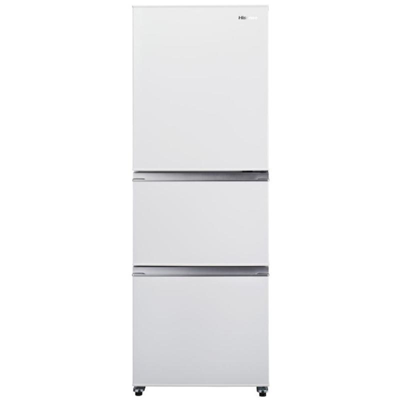 ハイセンス 再販ご予約限定送料無料 3ドア冷蔵庫 282L 右開き 特売 標準設置無料 ホワイト HR-D2801W