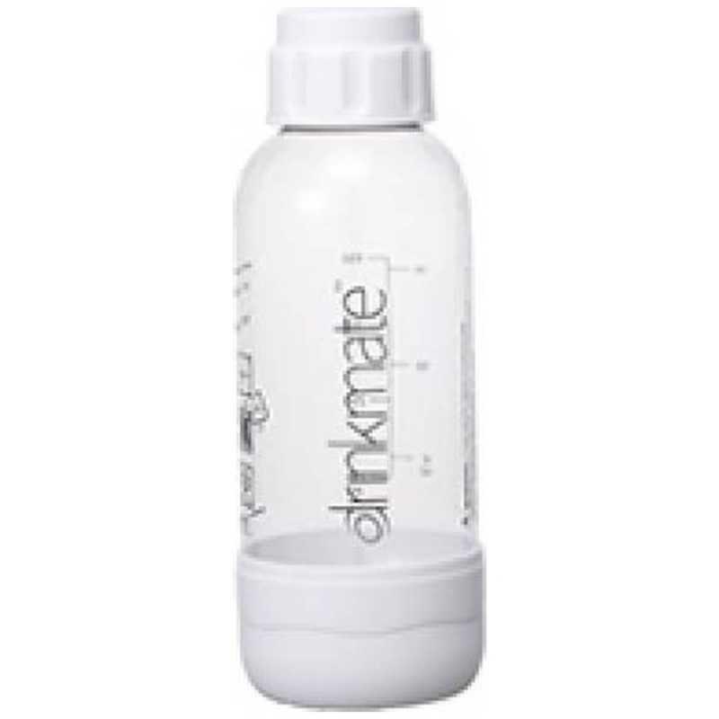 ドリンクメイト 贈答品 トラスト ソーダメーカー 用専用ボトルSサイズ ホワイト DRM0021