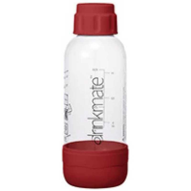 ドリンクメイト ソーダメーカー 用専用ボトルSサイズ お見舞い 特価キャンペーン DRM0023 レッド