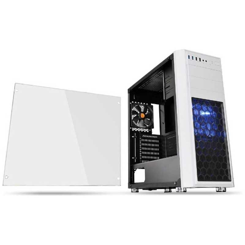 THERMALTAKE Versa H26 White casefan 爆買いセール CA-1J5-00M6WN-01 w NEW