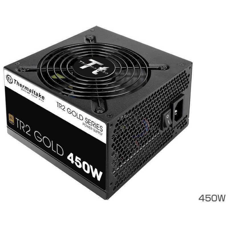 THERMALTAKE 450W 本日限定 PC電源 購入 TR2 V2 GOLDシリーズ PSTR20450NPCGJPGV2