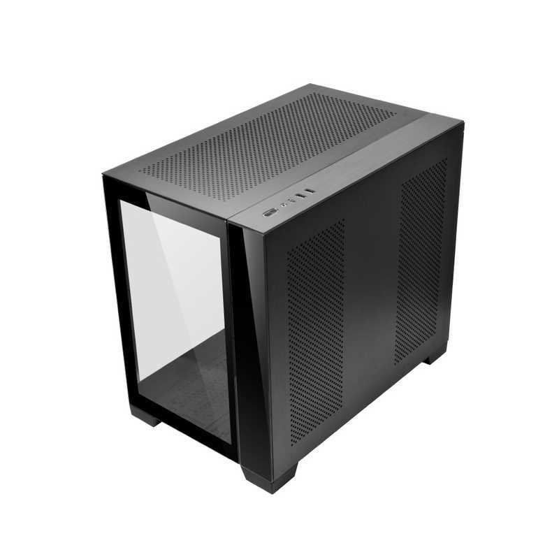 LIANLI PCケース ランキングTOP5 O11 DYNAMIC MINI O11DYNAMICMINIBLACK 専門店 ブラック BLACK