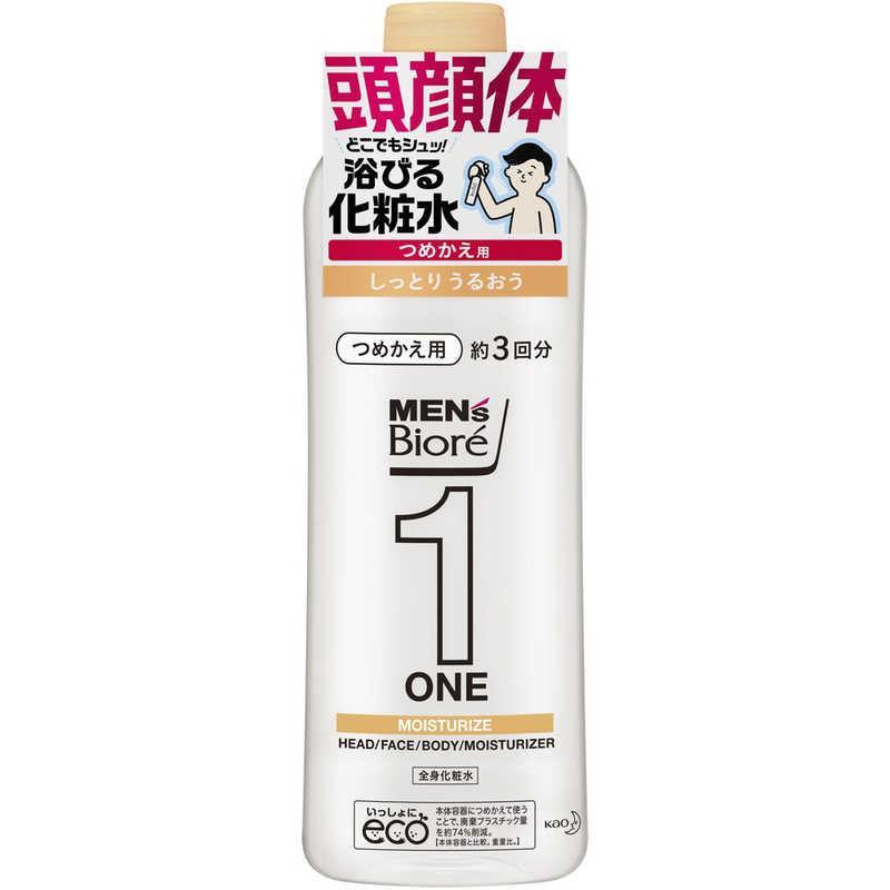 人気商品 花王 メンズビオレONE全身化粧水スプレーしっとり詰替 優先配送 340 MBワンケショウシットリカエ