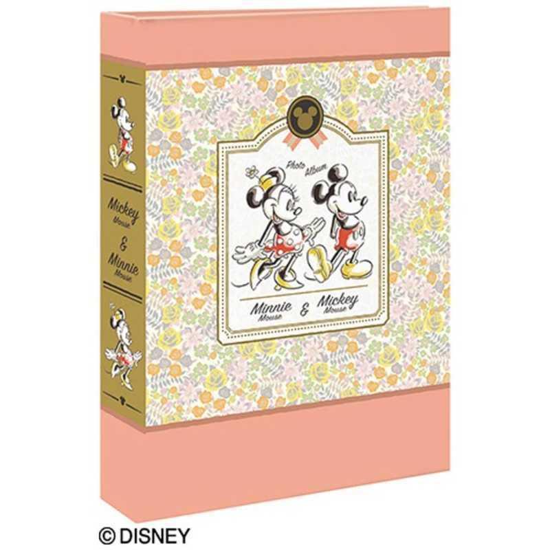 ナカバヤシ L判3段ポケットアルバム 180枚収納 全店販売中 ミニー 1PL15031 品質保証 ミッキー