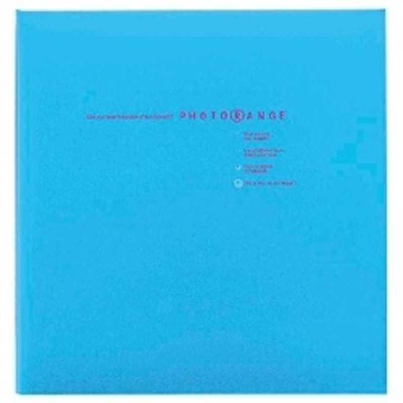 本物 ナカバヤシ フエルアルバム 白フリー台紙20枚 Lサイズ 20L‐92‐B 奉呈 ブルー フォトレンジ