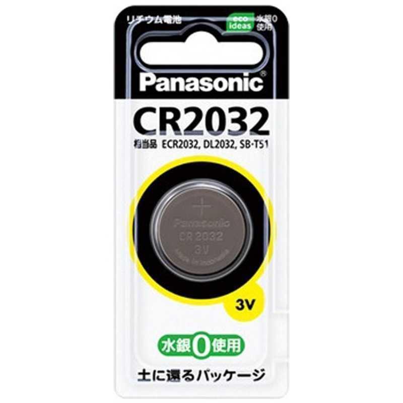パナソニック 販売期間 限定のお得なタイムセール 上等 Panasonic コイン形リチウム電池 CR2032P