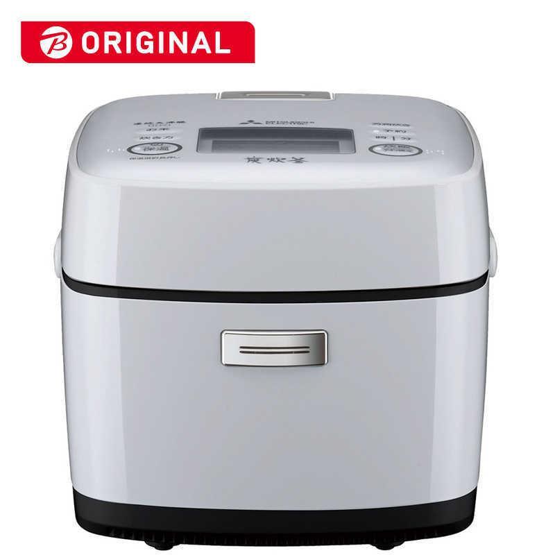 三菱 MITSUBISHI セール品 炊飯器 備長炭 炭炊釜 NJ-SV06R-W 在庫処分 白磁 はくじ