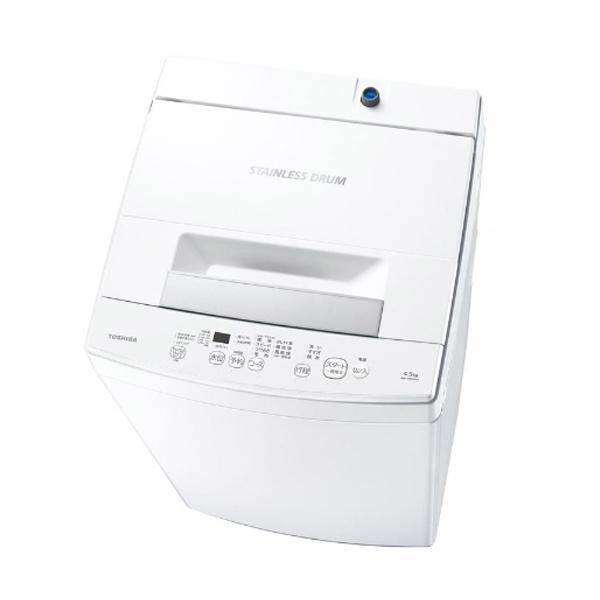 返品交換不可 東芝 低価格化 TOSHIBA 全自動洗濯機 洗濯4.5kg 標準設置無料 パワフル洗浄 AW-45M9-W ピュアホワイト