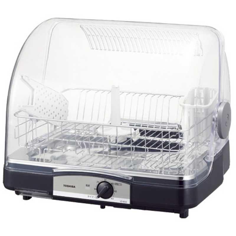 迅速な対応で商品をお届け致します 東芝 TOSHIBA 食器乾燥器 海外限定 ブルーブラック 6人用 VD‐B5S‐LK