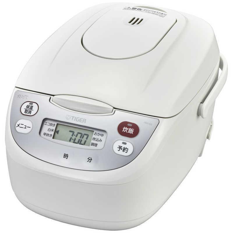 タイガー TIGER 期間限定特別価格 炊飯器 〈炊きたて〉 JBH-G182W 国内即発送 マイコン ホワイト 1升