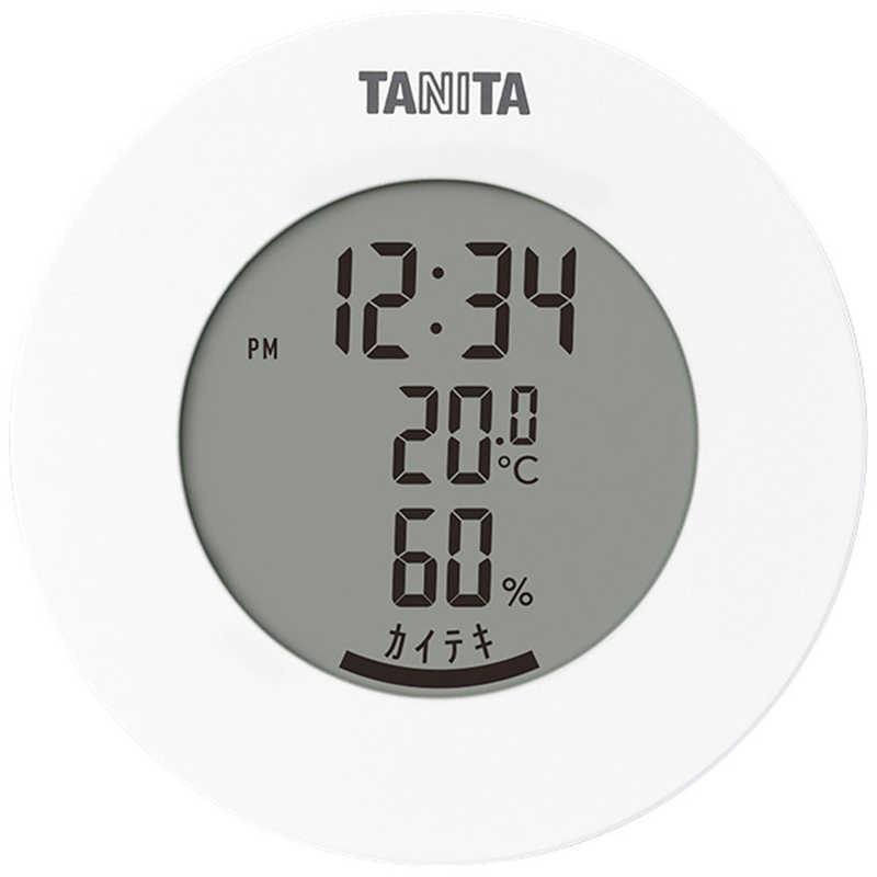 豪華な アウトレット タニタ デジタル温湿度計 TT585WH