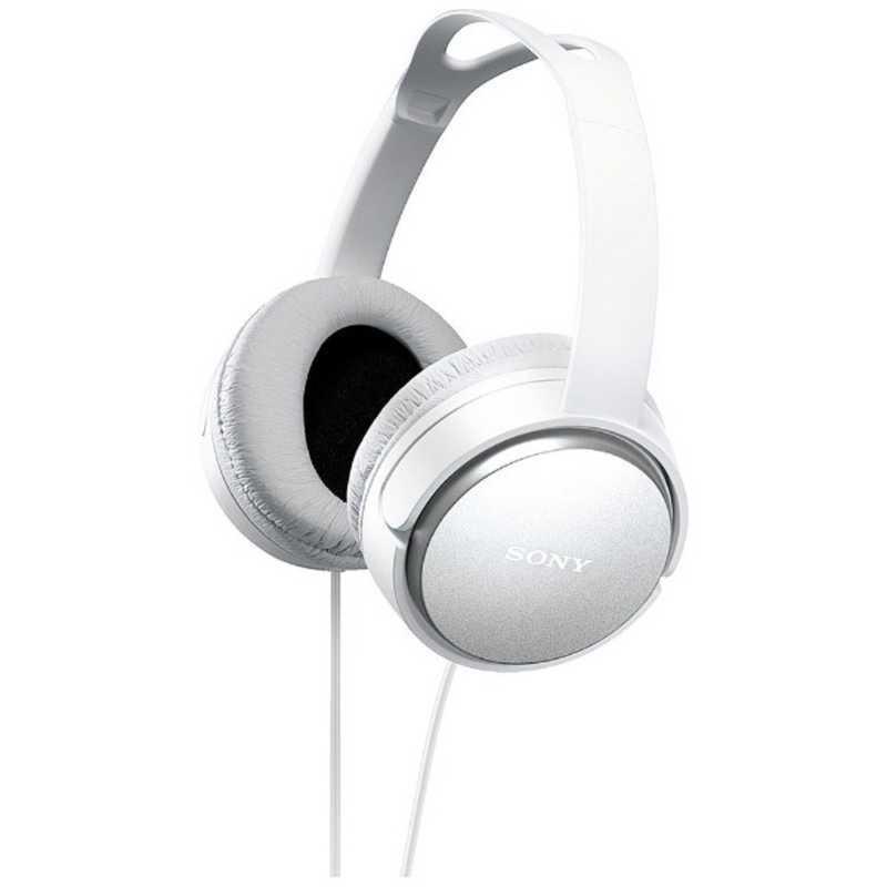 プレゼント ソニー SONY ステレオヘッドホン W 全商品オープニング価格 ホワイト MDR-XD150