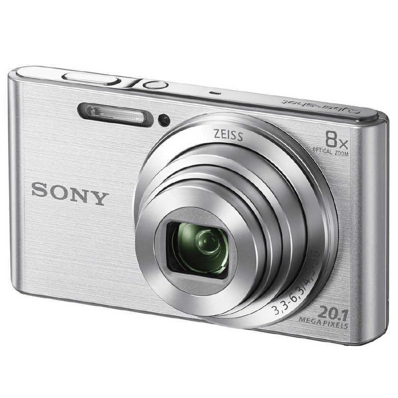 ソニー 本日の目玉 SONY コンパクトデジタルカメラ Cyber−shot 購買 サイバーショット シルバー DSC-W830