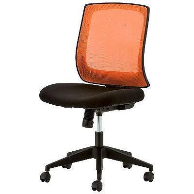 イトーキ メッシュタスクチェア オフィスチェア 肘無し オレンジ YE8-OR 1脚 (直送品) イトーキ メッシュタスクチェア オフィスチェア 肘無し オレンジ YE8-OR 1脚 (直送品)