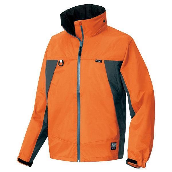 アイトス 全天候型ジャケット(ディアプレックス) オレンジ×チャコール AZ56301-063-5L (直送品)