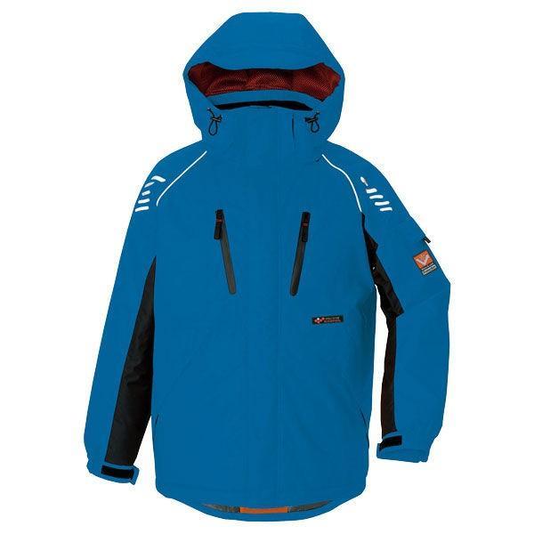 アイトス 防寒ジャケット ブルー AZ6063-006-5L (直送品)