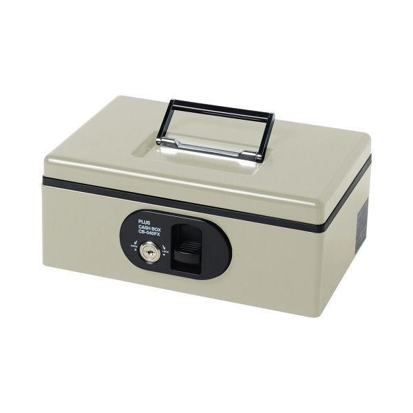 プラス 手提金庫 ライトグレー CB-040FX LGY (直送品) プラス 手提金庫 ライトグレー CB-040FX LGY (直送品)
