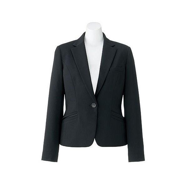 ボンマックス BONOFFICE ジャケット ブラック 7号 AJ0256-16 1着 (直送品)