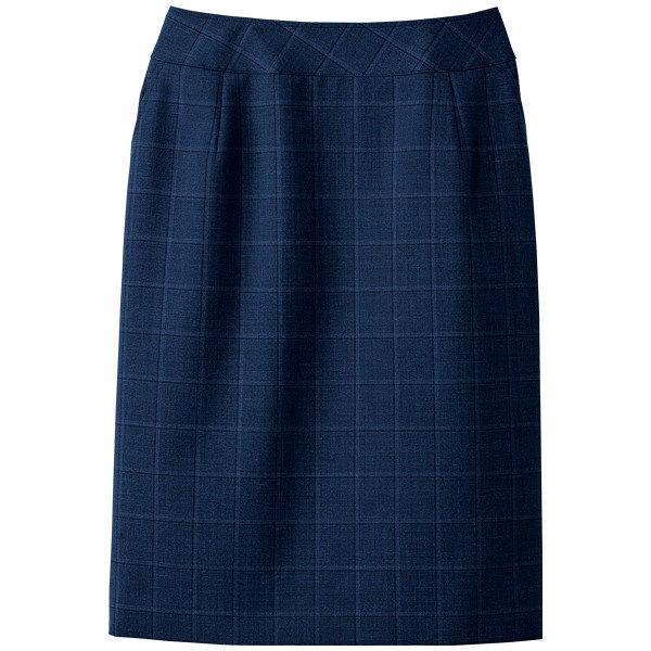 セロリー(Selery) スカート ネイビー 21号 S-16551 1着(直送品)