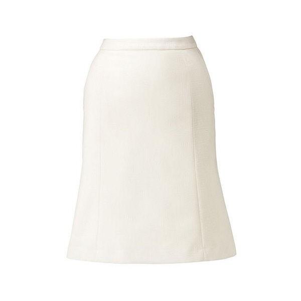 ボンマックス BONOFFICE マーメイドスカート ホワイト 17号 BCS2101-15 1着 (直送品)