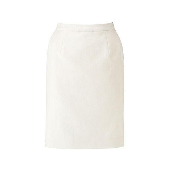 ボンマックス BONOFFICE タイトスカート ホワイト 21号 BCS2102-15 1着 (直送品)