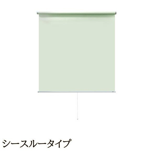 【再入荷】 ナプコインテリア プル式 シングルロールスクリーン ソレイユ マグネットタイプ プル式 ソレイユ 幅950×高さ1900mm ミストグリーン 1本(直送品), こめの里本舗:9f551663 --- grafis.com.tr
