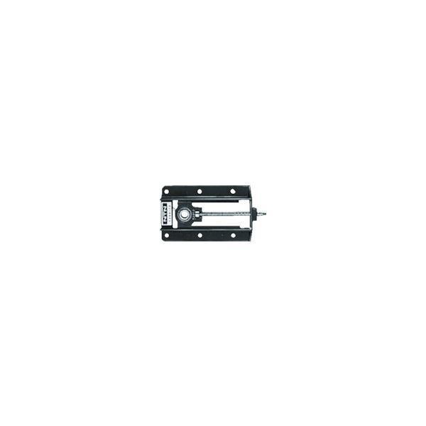 NTN 軸受ユニット軽溝形鋼製フレーム(円筒穴形、止めねじ式)軸径45mm 全長580mm 全高192mm UCL209-20D1 819-7018(直送品)