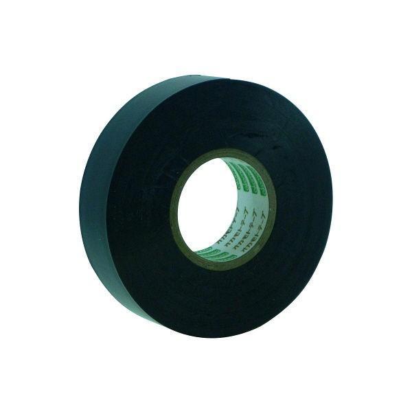 オカモト ビニールテープ 19mm×20m 黒 470 200巻 (直送品)