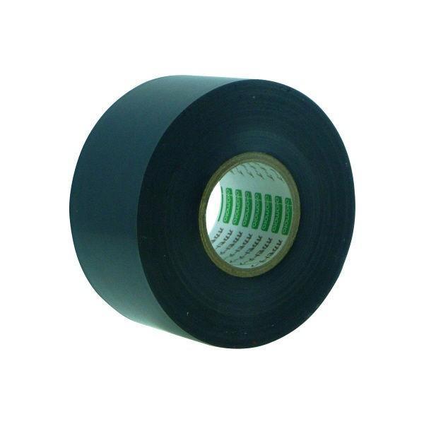 オカモト ビニールテープ 38mm×20m 黒 470 100巻 (直送品)