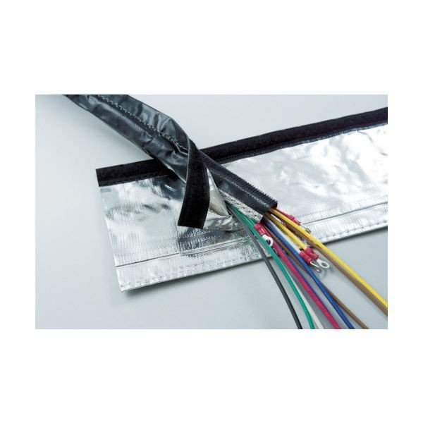 日本ジッパーチュービング(ZTJ) ZTJ 電磁波シールド チューブ・マジックタイプ φ25 MTF-ARK-25 1巻 855-8798(直送品)
