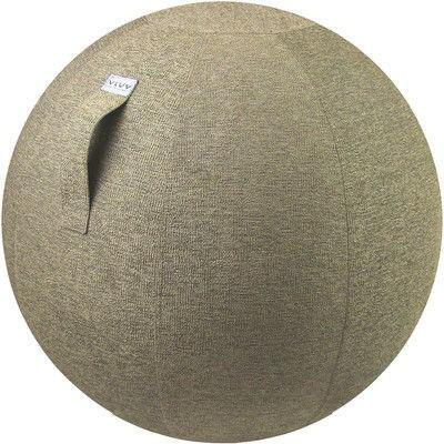 ハーフェレジャパン VLUV(ヴィーラブ) ぺプル・ベージュ M M バランスボール 直径約63cm 1個 (直送品)