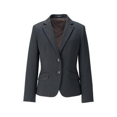 ボンマックス BONOFFICE ジャケット グレイ 9号 AJ0260-2-9 (直送品)