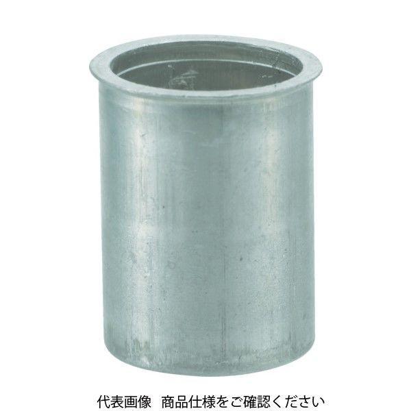 TRUSCO クリンプナット薄頭アルミ 板厚4.0 M6X1 (1000個入) TBNF-6M40A-C 409-7173 (直送品)