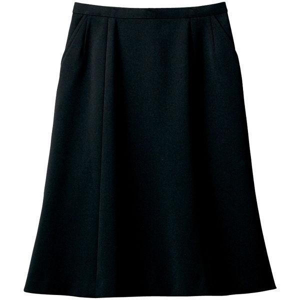 セロリー(Selery) マーメイドスカート ブラック 23号 S-16040 1着(直送品)