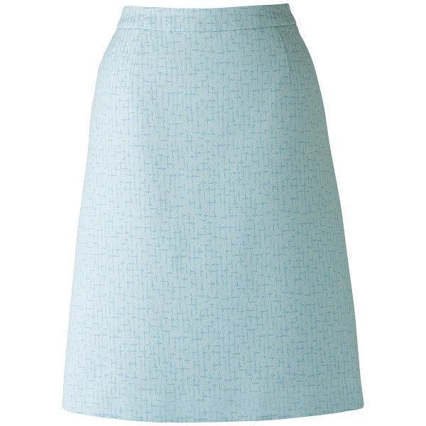 ボンマックス BONOFFICE Aラインスカート ブルー 5号 LS2748-6 1着 (直送品)