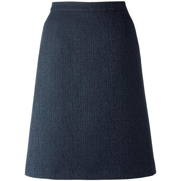 ボンマックス BONOFFICE Aラインスカート ネイビー 19号 LS2748-8 1着 (直送品)