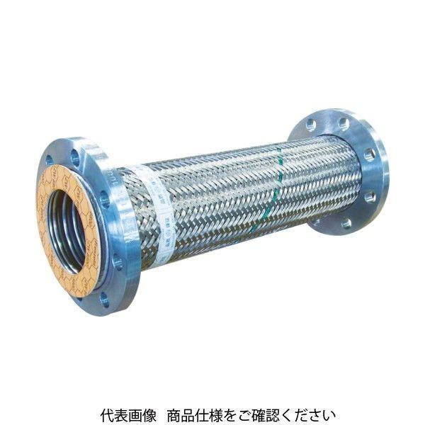 トーフレ(TOFLE) トーフレ フランジ無溶接型フレキ 10K SS400 80AX800L TF-23080-800 1個 440-4424(直送品)