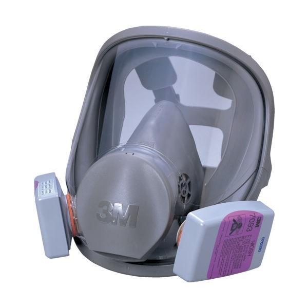 スリーエム ジャパン(3M) 3M 取替式防じんマスク 6000F/7093-RL3 Lサイズ 6000F/7093-RL3L 324-1874 (直送品)