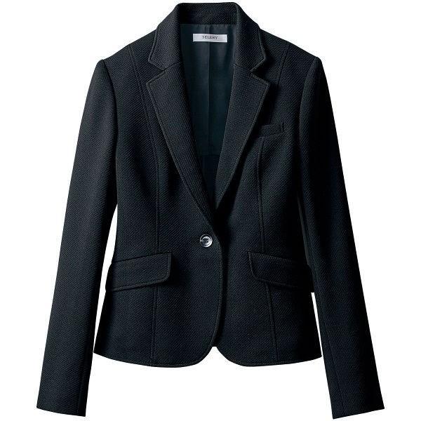 セロリー(Selery) ジャケット ブラック 15号 S-24710 1着(直送品)